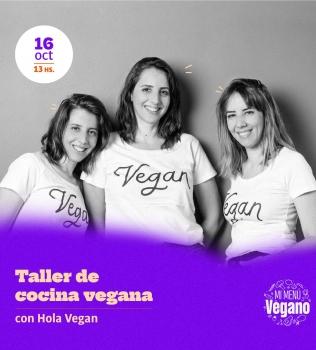 Taller gratuito de cocina vegana con Hola Vegan